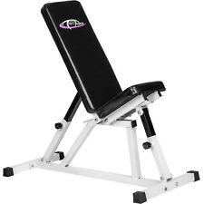 Panca inclinata regolabile allenamento fitness bodybuilding manubri formazione
