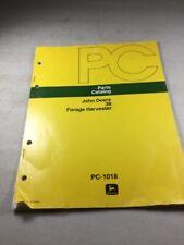 John Deere 38 Forage Harvester Parts Catalog