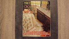 Vieux magazine : Tricot Sélection - Crochet d'Art n°77 - 05/1984
