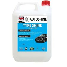 Tyre Gel High Gloss Dressing Silicone Tyre Shine Wet Look Black 1Litre