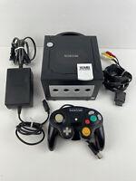 Nintendo GameCube Black Console System Bundle DOL-101 + Memory Card Controller