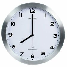 Wanduhr Funk Uhr Radio Controlled Quarz-Uhrwerk 30,5cm