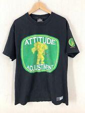 Vintage John Cena WWE Wrestling Atitude Adjustment T-Shirt Sz Large