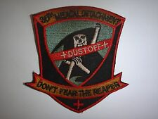 """Patch US 36th Medical Detachment DUSTOFF """"DON'T FEAR THE REAPER"""" In Korea"""