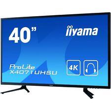 iiyama ProLite X4071uhsu-b1 40 Inch 4k LED Monitor - 3840 X 2160 3ms Speakers