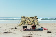 Neso Tents Beach Tent with Sand Anchor, Portable Canopy Sun Shelter (Camo)