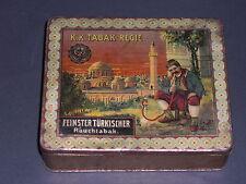 Sammler-TABAK-BLECHDOSE- K.K.Tabak-Regie