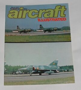AIRCRAFT ILLUSTRATED MARCH 1977 - DH66 HERCULES/HAWKER SIDDELEY 125