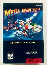 Mega Man X2 - SNES Super Nintendo - Reproduction Instruction Booklet Manual - US