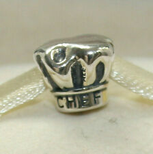 Sterling Silver 3D 15x14mm Kitchen Chef/'s Hat Cooking Charm
