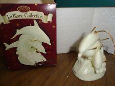 Dolphin Porcelain Ornament - Le Blanc Collection