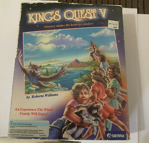 Sierra Kings Quest V Absence Makes The Heart Go Yonder  MS Dos
