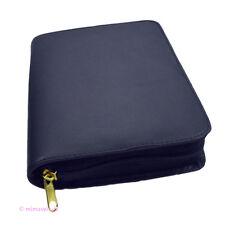 Gotteslobhülle Gotteslob Hülle echt Leder blau für das NEUE Gebetbuch Buchhülle