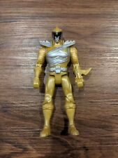 BAN DAI Power Rangers Dino Cycle Mega Gold Ranger Figure Toy MMPR Super Charge