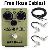 New Dunlop Way Huge WHE408 Electronics Russian Pickle Fuzz Guitar Effects Pedal!