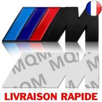 Logo M BMW Coffre Ailles 82mm X 28mm Neuf Sous Blister Motorsport M M3 M5 Noir