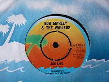 "BOB MARLEY & THE WAILERS...JAH LIVE...UK PRESS REGGAE ROOTS 7"" 45RPM LEE PERRY"