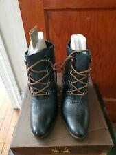 Franco Sarto black wedge heel boot Size 8.5