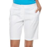 Women's Nike Standard Fit Flex Golf Shorts - White, MSRP $65 Sizes:4,6,8,10,12