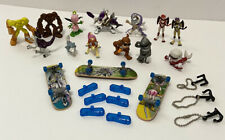 "Lot of 13 Digimon Digital Monsters 2"" Bandai Mini Figures 3 Skateboards"