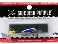 Fishing Jig 1//6oz Orange//Chrome The Do-Jigger by the Swedish Pimple People