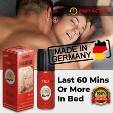 NEW SUPER VIGA 84000 GERMAN NATURAL PREMATURE EJACULATION SEX DELAY SPRAY LONG