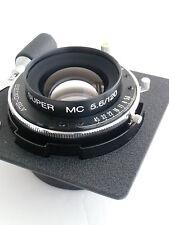 Horseman Super MC 120 /f 5.6 lens, Seiko shutter, Horseman lens board (150019)