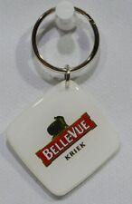 BELLEVUE KRIEK Belgique Bière porte-clé plastique 3.3x3.3 cm