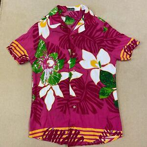 Coco Republic Large Hawaiian Flowery Shirt