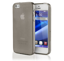 iPhone 5 / 5S TPU Case Cover Bumper Silikon Schutz Hülle Tasche transparent matt