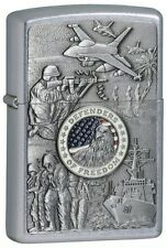 Zippo Joined Forces Emblem Street Chrome - Zippo 24457