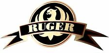 Ruger Vinyl Decal Sticker For Gun / Rifle / Case / Gun Safe / Car / R15 GOLD