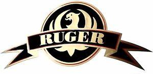 Ruger Vinyl Decal Sticker For Gun / Rifle / Case / Gun Safe / Car / R15 GOLD