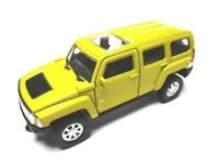 Hummer H2 En General, Coche a Escala Metal Diecast 11CM, Welly Nex Modelo