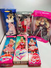 Mattel Vintage Barbie Doll Lot 6 Dolls NRFB 90's Dolls Collectors Edition Rare