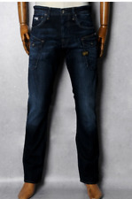 G-Star Raw Nattacc Straight Jeans Dark Aged Mens Size W30 L34 *REF28-04