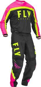 Fly Racing F-16 Jersey & Pant Combo Set MX/ATV/BMX/MTB Offroad Riding Gear 2020