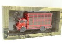 Ixo Truck vintage 1/43 - Berliet GLB Livestock Red 1955
