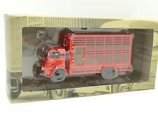 Ixo Camión de antaño 1/43 - Berliet GLB Ganado Rojo 1955
