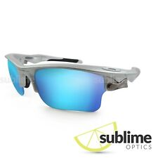 Metallic Ice Blue Polarized Replacement lenses for Oakley Fast Jacket XL