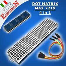 MAX7219 8x8 Dot Matrix Module 4 in 1 Display Microcontroller For Arduino