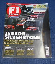 F1 RACING JULY 2012 - JENSON VS SILVERSTONE