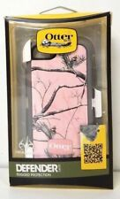 OtterBox Defender Apple iPhone 5/5S/SE Case Cover Realtree Camo Pink, New