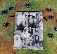 Lord of the Rings The Hobbit Grey Gandalf Aragorn dice bag, card bag, makeup bag