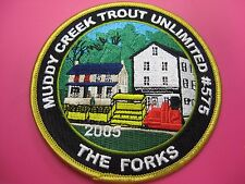 PA Fish Commission Patch Muddy Creek Trout Unlimited #575 2005 The Forks