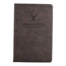 Apple iPad 5 6 Air 1+2 Cover Case Tablet Hülle Tasche braun Hirsch Buck