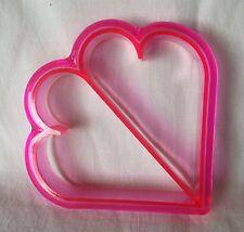Bread Sandwich Crust Cutter Pink Hearts Mold
