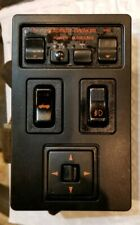 90-91 RX-7 Convertible FC3S Center Console Speaker Fog Light Mirror Switches
