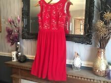 Women's Morgan & Co Red Dress Size 10 New