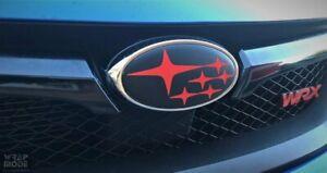 Front and Rear Badge Overlay - Subaru WRX/STI Sedan 2010-2014